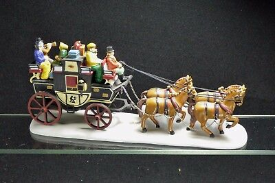 1991 Dept 56 Heritage series Holiday Horse carriage