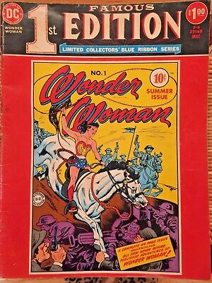 Famous First Edition F-6 WONDER WOMAN #1 1975 Treasury