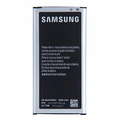 Genuine OEM Battery for Samsung Galaxy S5/SV EB-BG900BBZ 2800 mAh