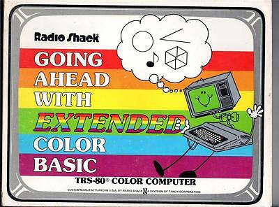 Radio Shack Going Ahead With Extended Color Basic Trs-80 1981 - Free Post