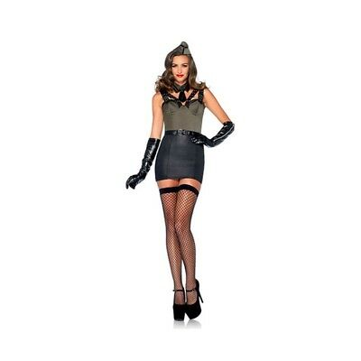 714718497037 COSTUME SEXY MAJOR BOMBSHELL - Taglia L