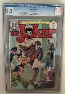 Joker cgc 1 batman 1975 DC comics 9.2