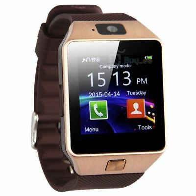 DZ09 Reloj Inteligente Bluetooth Smart Watch con Cámara para Android IOS TF SIM