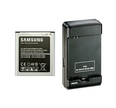 2600mAh Replacement Battery+Charger for Samsung Galaxy S4 i9500 B600BC B600BU