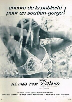 N- PUBLICITÉ ADVERTISING 1969 Lingerie soutien gorge Playtex - EUR 3 ... 4db71b38f83