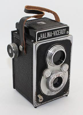 Halina Viceroy 6x6 Pseudo TLR 120 Film Camera with case - c.1960 - GC and tested