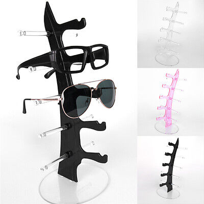 5 Layers Glasses Eyeglasses Sunglasses Show Stand Holder Frame Display Rack ESCA