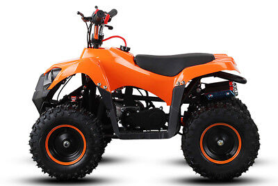 "49cc Trucky 6"" Alu Easy Start Miniquad Atv Kinderquad Cross Pocketquad"