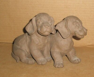 Dachshund Puppies figurine