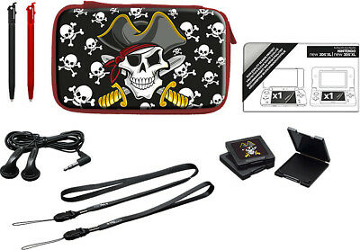 Nintendo New 2DS XL / New 3DS XL Pirate Essential Pack Tasche + Zubehör