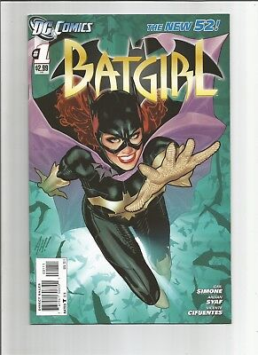 BATGIRL #1 DC New 52  Adam Hughes with Free Shipping    Nice Copy