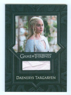 "Emilia Clarke ""daenerys Targaryen Cape Relic Vr3"" Game Of Thrones Valyrian Steel"