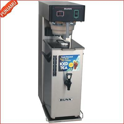 Adjustable Steep Time Commercial Iced Tea Brewer Machine with Portable Server US