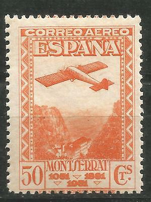 Spain Edifil # 653 MNH Montserrat air without stamp hinges