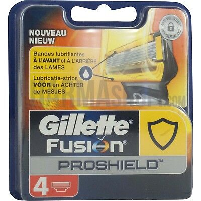 Lame gillette fusion proshield 4 lames Neuf