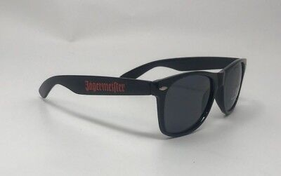 Jagermeister Black Sunglasses 100% UV 400 Protection New Free Shipping