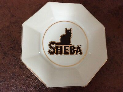 MINT  Vintage   SHEBA Cat Food Advertising Plate Promotion