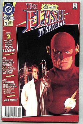 Flash TV Special #1-1991 vg/fn Giant-Size John Wesley Shipp photo cover