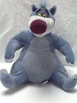 Talking And Singing Baloo The Bear Disney Jungle Book. Approx 14 inches.
