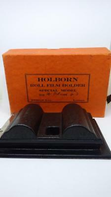 Rollex Rollfilm Holder German Boxed Special Model? Vintage but as new! Roll Film