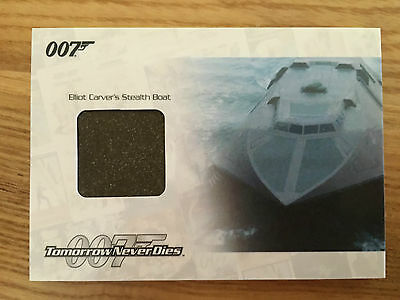 James Bond Archives 2014 Stealth Boat Relic Card 134/175 JBR31