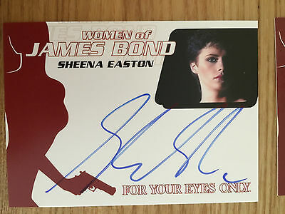 James Bond Archives 2014 Autograph Card Sheena Easton WA58
