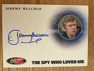 James Bond Archives 2014 Autograph Card Jeremy Bulloch as Andrews A251