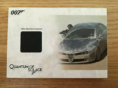 James Bond Archives 2014 Alfa Romeo Interior Relic Card 227/275 JBR38