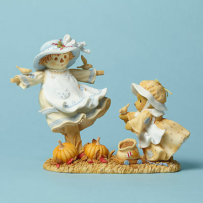 Cherished Teddies*ELIZA BEAR with SCARECROW*New*HARVEST*Autumn Is In Air*4042749