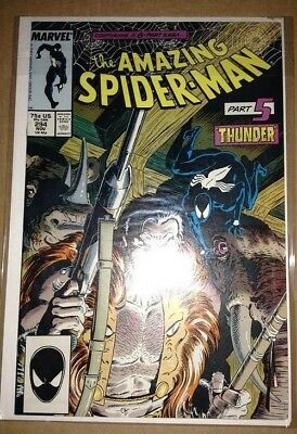 The Amazing Spider-Man #293, #294 (1987, Marvel)--comic lot