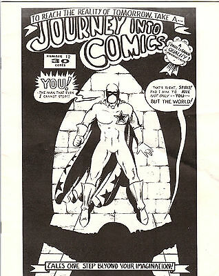 Journey Into Comics #12 1970 Vintage Fanzine VHTF! Underground Comic Book VF-