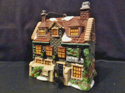"DEPT 56 1994 COLLECTORS EDITION :DEDLOCK ARMS"" CHARLES DICKENS HERITAG village"