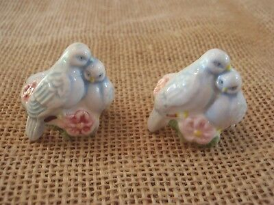 Vintage 1983 Avon Taper Candlestick Rings Huggers Lovebirds Dove Flower