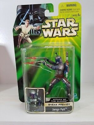 Star Wars Potj Series Aotc Attack Of Clones Sneak Preview Jango Fett  Figure