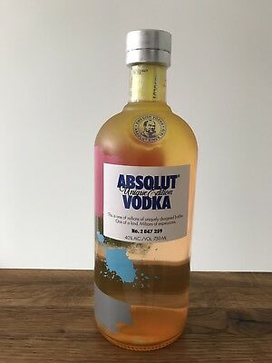 Absolut Vodka Unique # 2 847 259 * Israel Edition 2012 * 750 Ml New & Sealed *