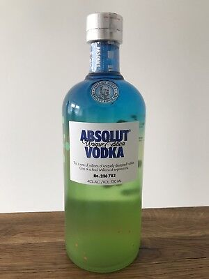 Absolut Vodka Unique # 236 782 * Israel Edition 2012 * 750 Ml New & Sealed *