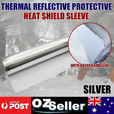 Adhesive Backed Heat Thermal Sound Damping Material Foil Reflective 1M x 2.5M