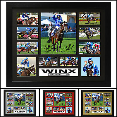 Winx Signed Framed Memorabilia Limited Ed. 2017 - Multiple Variations