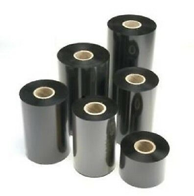12 Piece TTR Colour Band 40mm x 300m Wax Quality Thermal Transfer Foil Ribbons