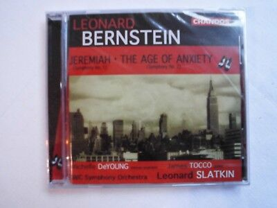 Jeremiah/The Age Of Anxiety von TOCCO,Slatkin,BBCSO,DeYoung (2001)