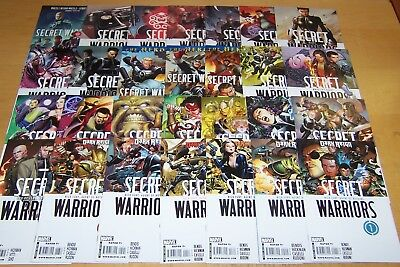 Marvel Comics Secret Warriors 1-28 Full Set Hickman 2009-2011