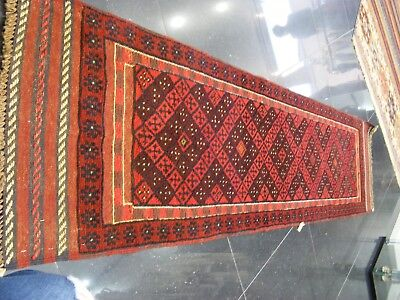 Old Traditional  Hand Made Persian Rug Oriental Wool   Rug Runner 250x59