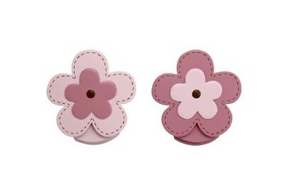 NoJo Wall Decor Clip, Flower, 2 Count