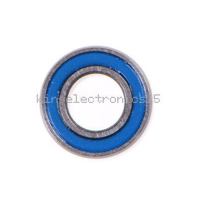 10PCS NEW Miniature ball Bearings with blue Plastic cover 5*10*4mm MR105-2RS