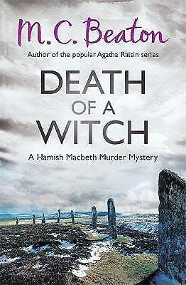 **NEW PB** Death of a Witch by M. C. Beaton (Paperback, 2013)