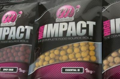 Mainline High Impact Boilies 15mm or 20mm Shelf Life All Flavours in 1kg or 3kg