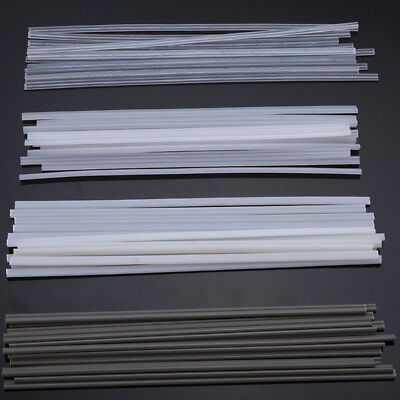 50PCS Plastic Welding Rods ABS/PP/PVC/PE Welding Sticks 200mm for Plastic Weldin