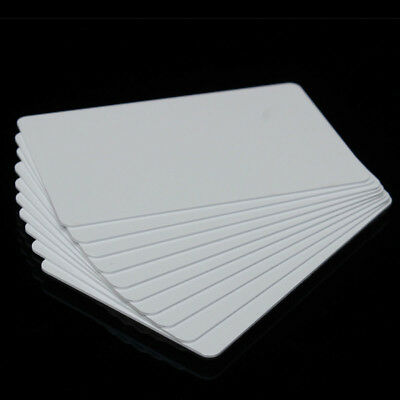 10Pcs NFC Smart Card Tag Tags S50 IC 13.56MHz IC Copier Read Write White Cards