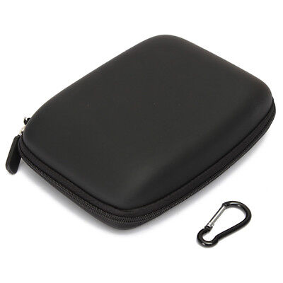 Hard Shell Carry Bag Zipper Pouch for 6Inch Sat Nav GPS