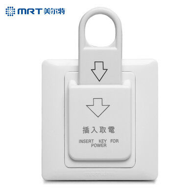 High Grade Hotel Magnetic Card Switch 220V/25A Energy Saving Switch Insert Key